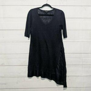 Eileen Fisher Linen and Silk Asymmetrical Dress